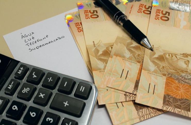 orçamento e conta