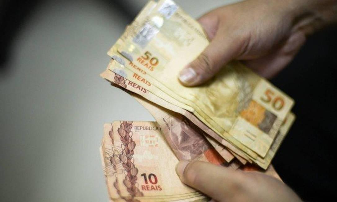 movimentação de dinheiro