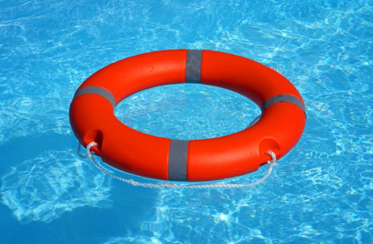 boia salva vidas na água