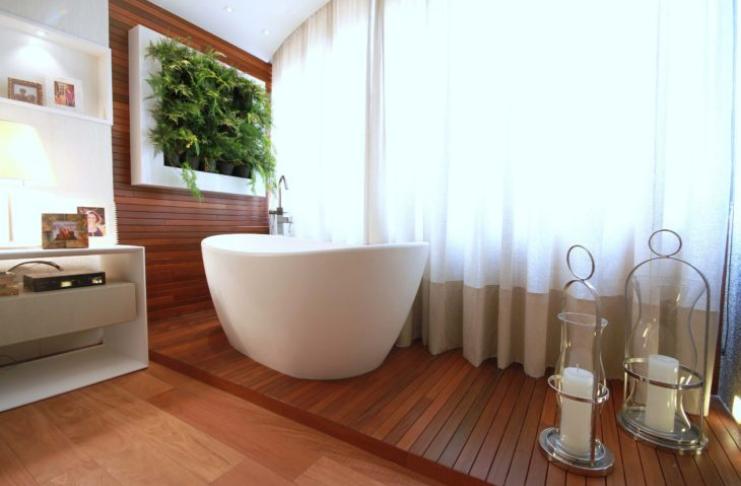 banheiro decoração spa
