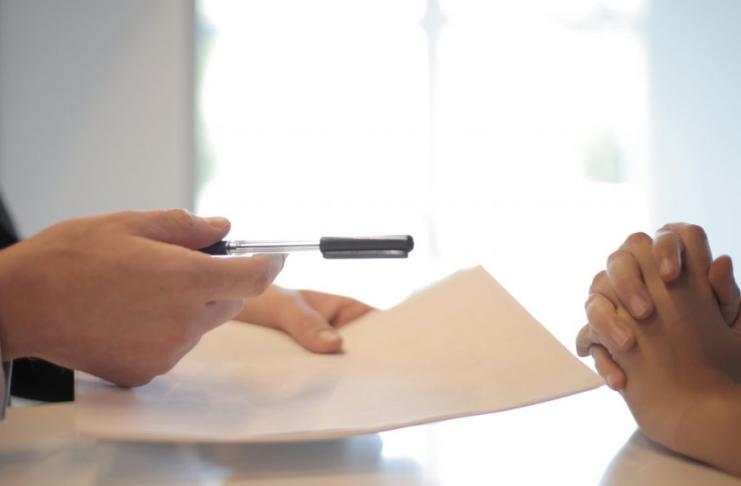 divórcio para assinar