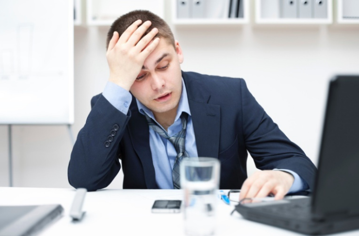 Aqui é onde você encontrará os trabalhadores mais estressados
