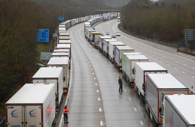 Reino Unido está ficando sem produtos frescos
