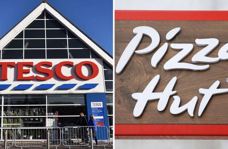 Tesco e Pizza Hut 'envergonhados' por não pagarem o salário mínimo do Reino Unido