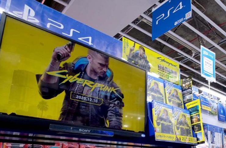 Sony remove Cyberpunk 2077 da PlayStation Store