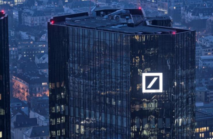 Deutsche Bank vai pagar mais de US $ 100 milhões em acordo de processo