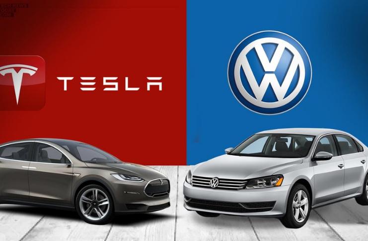 Os carros elétricos atingem o recorde de 54% das vendas na Noruega enquanto a VW ultrapassa a Tesla