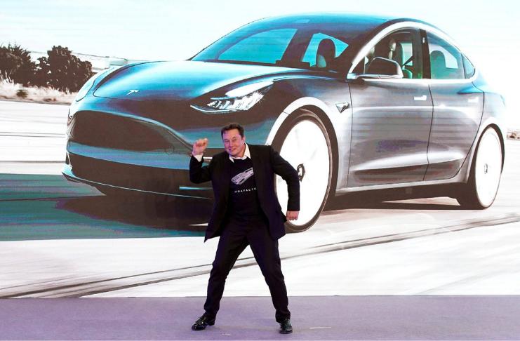 Tesla atingiu a meta de meio milhão de carros em 2020