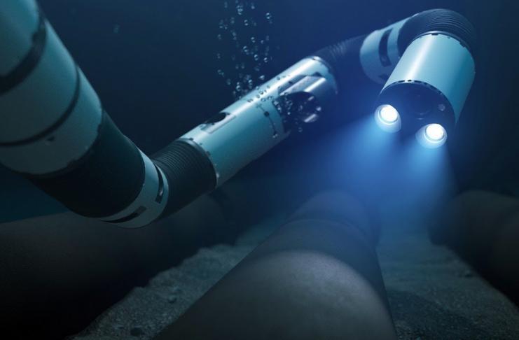 Este 'robô cobra' pode consertar oleodutos no fundo do oceano